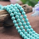 Wholesale Natural 5A Amazonite crystal Round bead Stone Beads For <b>Jewelry</b> <b>Making</b> DIY Bracelet Necklace Strand Crystal