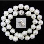 AAA 10mm Genuine White South Sea Shell Pearl Necklace 9.99+<b>earring</b>(gift).jpg