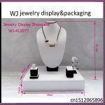 Latest Portable Wooden <b>Jewelry</b> Display Stand Holder Rack Showed Case <b>Jewelry</b> Store <b>Supply</b> For Mixed Jewellery Displaying Counter