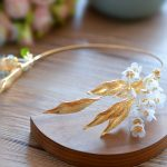 Gold Leaf Baroque Tiara Headband Flower Crown Hair <b>Jewelry</b> Bridal Hairband Headpiece Hair Band <b>Wedding</b> Hair Accessories WIGO1156