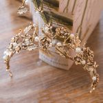 Vintage Retro Gold Bridal Wedding Tiaras and Crowns For Women Bride Pageant Prom Royal Crown Wedding head <b>Jewelry</b> Accessories