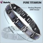 Rainso <b>Fashion</b> <b>Jewelry</b> Bracelets & Bangles Bio Energy Healing Titanium Magnetic Bracelet Men <b>Jewelry</b> Love Bracelet Gift For Men