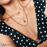 eManco Wholesale Crystal Beads <b>Making</b> Layering Necklace Old Coins Coffee&Blue Necklace 2018 New Arrivals for Women <b>Jewelry</b>