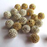 Sales– 10pcs 10mm Vintage Rhinestone Brass Crystal Connector ,Round Ball Hematite Gunmetal <b>Antique</b> Silver Gold Black