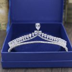 Bright AAA+ Cubic Zirconia <b>Wedding</b> Hair <b>Jewelry</b> Accessories Party Gift Bride Hair Accessories AH013