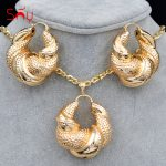 Sunny <b>Jewelry</b> Women Big <b>Jewelry</b> Sets Necklace Earrings Pendant Romantic Geometric <b>Jewelry</b> For Wedding Copper <b>Jewelry</b> Findings