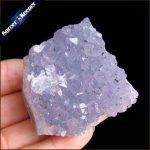 100g Natural Stone Purple Raw Amethysts Druzy Drusy Elestial Skeletal Quartz Crystal Cluster Specimen Fit <b>Jewelry</b> <b>Making</b> KS534