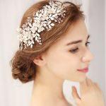 Luxury Silver Floral Bridal Headpiece Tiaras <b>Wedding</b> Hair Accessories Handmade Hair Vine Headband <b>Wedding</b> Hair <b>Jewelry</b> For women