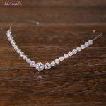 Jonnafe <b>Fashion</b> Bridal Forehead Tiara Zirconia Wedding Hair Crown Accessories Silver Women Prom Hairband <b>Jewelry</b>