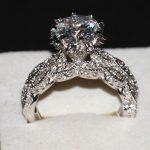 Victoria Wieck Luxury <b>Jewelry</b> Diamonique 925 Sterling Silver <b>Wedding</b> AAA CZ stones Women Bridal Women Ring set With Box Gift
