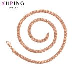 11.11 Deals Xuping Luxury <b>Fashion</b> Necklace Charm Style Long Necklace Chain Women Men Father's Day <b>Jewelry</b> Gift S92-44802