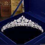 Vintage Flower Brides Hairbands Full Zircon Crystal <b>Wedding</b> Tiaras Crowns Silver Bridal Hair Accessories Bridesmaid Hair <b>Jewelry</b>