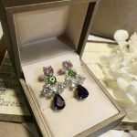 Top quality new Brand fine <b>Jewelry</b> For Women s925 pure sterling silver Earrings <b>wedding</b> Party exquisite purple crystal earrings