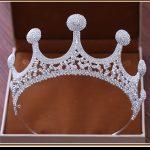 Bridal Wedding Tiaras and Crowns Full Crystal <b>Silver</b> Hair Crown for Women 2018 New Fashion Hair <b>Jewelry</b> Hair Accessories