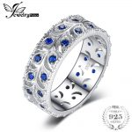 JewelryPalace 0.5ct Created Blue Spinel Engagement Wedding Band Ring For Women Real 925 Sterling <b>Silver</b> Fashion <b>Jewelry</b> Gift