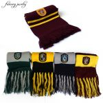 Gryffindor/Slytherin/Hufflepuff/Ravenclaw Scarf brooch Pins <b>Accessories</b> Scarves Cosplay Costumes Warm winter for men and women