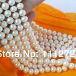 New Natural <b>Jewelry</b> Beads Wholesale 5pc 6.5-7mm White FW Cultured Pearl Necklace Fashion <b>Jewelry</b> <b>Making</b> Design Wholesale Price