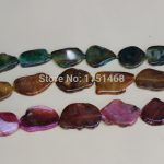 2017 Dinner <b>Jewelry</b> <b>Making</b>, Large Stone Druzy Faceted Stone Beads 3Colors Gems statement Bead Pendant Necklace for 2015