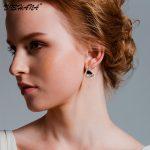 New FashionTriangle AAA+ Cubic Zirconia Stud Earrings for Women Statement <b>Jewelry</b> <b>Accessory</b> Earring High Quality(E0189)