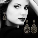 GODKI 61mm Luxury Popular Luxury Geometry Water Drop Full Mirco Paved Crystal Zircon Naija <b>Wedding</b> Earring Fashion <b>Jewelry</b>
