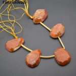 Drusy Agate Stone Big Irregular Drop Stone Loose Beads DIY <b>Jewelry</b> Making <b>Supplies</b> Wine / Purple / Gold Color