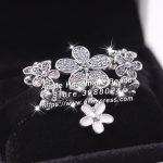 3pcs S925 Sterling Silver Shining Daisies CZ Charms Beads <b>Jewelry</b> Set Fit DIY Bracelets Necklaces <b>Jewelry</b> <b>Making</b> Woman Gift