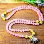 Pink Quartz Elephant Bracelet <b>Jewelry</b> Girl Natural Opal Stone Bracelet Wristband Charm Braclet For Female <b>Accessories</b>