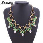 Seblasy Fashion <b>Jewelry</b> Bohemia Gypsy Shiny Crystal Water Drop <b>Antique</b> Gold Color Circle Collar Choker Necklaces & Pendant Women