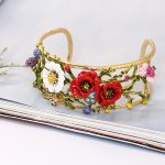 Plants Series Enamel Red Rose Daisy Crystal Bangle For Woman Gold Really Plated <b>Jewelry</b> Free Shipping valentine's day Gift