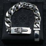 Men 's <b>Sterling</b> <b>Silver</b> Bracelet Retro Trend Cross – Holy Sword Dominate Thai <b>Silver</b> Pendant Punk <b>Jewelry</b>