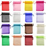100PCS 13×18 cm ORGANZA GIFT BAGS Wedding <b>Decoration</b> Party Favour <b>Jewellery</b> Packing ,Nice Gift Bag