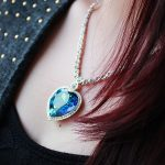 The Heart of The Sea Fashion Blue Classic <b>Jewelry</b> Sea Heart <b>Necklace</b> Austria Crystal Titanic Heart Pendant