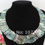 22*28 mm Paua Abalone Shell <b>Necklace</b>