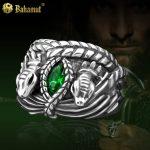 Men Rings Aragorn Ring King Noble 925 <b>Sterling</b> <b>Silver</b> Aragorn Ring Of Barahir LOTR <b>Jewelry</b> for Boyfriend Student Gift