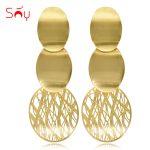 Sunny <b>Jewelry</b> Drop Earrings For Women Long Earrings Big Earrings 2018 Mother's Day Gift <b>Fashion</b> Women <b>Jewelry</b> Party Wedding