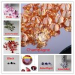 MRHUANG <b>Jewelry</b> <b>Supplies</b> Cubic Zirconia MIX COLOR Round Zircon 8.0MM 100pcs/pack DIY <b>Jewelry</b> Findings <b>Supplies</b> Free Shipping
