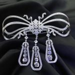 925 <b>sterling</b> <b>silver</b> with cubic zircon bowknot brooch pins fashion women <b>jewelry</b> free shippping