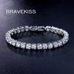 BRAEVKISS CZ stone tennis bracelet for women pulseiras bijoux femme <b>handmade</b> chain bracelet & bangles bileklik <b>jewelry</b> BUB0021