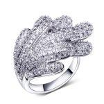 Rings elegant Party High quality Unique rings women CZ Fashion <b>jewelry</b> Free shipment Copper alloy Wedding <b>accessories</b> ring
