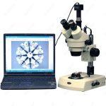 Stereo Microscope–AmScope <b>Supplies</b> 3.5X-90X <b>Jewelry</b> Gem Stereo Microscope + Dual Halogen + 1.3MP Camera
