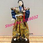 30cm Samurai Japanese humanoid Doll Restaurant <b>supplies</b> gift <b>jewelry</b> ornaments Home Furnishing Restaurant #3605