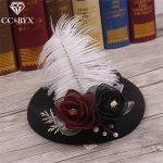 CC <b>Jewelry</b> Headmade Hat Tiaras Flowers Crowns Tiaras For Women <b>Wedding</b> Decorations Bridal Hair Accessories Hair Ornaments 1544