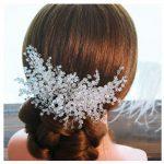 New <b>Handmade</b> Silver Hair Accessories Crystal Hair Comb And Clips Rhinestone Wedding Women Tiaras Hair <b>Jewelry</b> Hairband For Bride