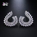 Be 8 2018 Luxury New Fashion Water Shape Statement Earrings, Fashion Cubic Zirconia Stud Earrings for Women <b>Wedding</b> <b>Jewelry</b> E505