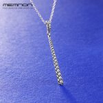 Memnon New Autumn link chain <b>Necklaces</b> for Women 925 sterling <b>silver</b> Shooting Star pendant <b>necklace</b> Fine Jewelry NC0917