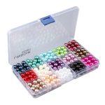 1 Box Imitation Plastic Pearls Beads <b>Handmade</b> <b>Jewelry</b> Making Material Accessories Findings Baby Girls Pearl <b>Jewelry</b> Beads
