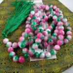 <b>jewelry</b> <b>handmade</b> lovely bead Miss charm Jew974 Red stone Mala Prayer Beads 108, crystal, Buddhist, meditation, japa, Hinduism