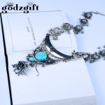 Godzgift Bohemian Boho <b>Jewelry</b> <b>Antique</b> Silver Tassels Pendant Long Carving Coins Necklace For Women Fine <b>Jewelry</b> JN0087
