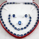 Nobility Wholesale Positive price Woman natural DIY Jewelry stone beads GEM yellow Necklace <b>Bracelet</b> Earring Ring box