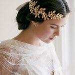 Dower me Gold Silver Leaves Wedding Tiara Vintage Hair Crown Bridal Accessories <b>Jewelry</b> <b>Handmade</b> Pearl Headpiece